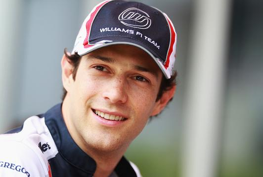 The 33-year old son of father Flávio Lalli and mother Viviane Senna, 181 cm tall Bruno Senna in 2017 photo