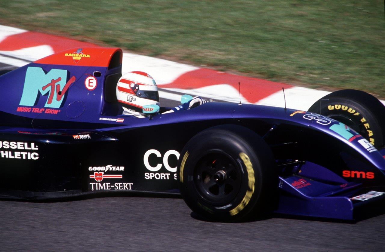 Roland Ratzenberger ex-piloto de Formula 1 - formula.hu