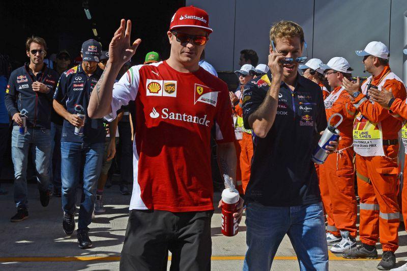 Vettel_Kimi