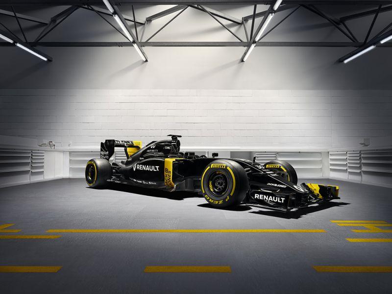 Renault F1 RE16 - Front 3Q - 8k