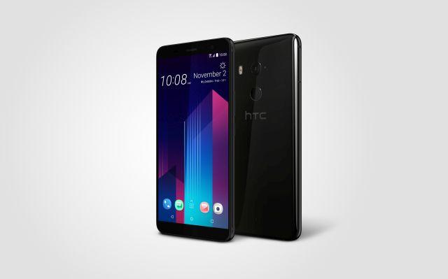HTC U11+ Angle Left_CeramicBlack Slim