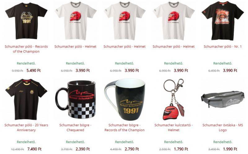 6cd8656e75 Szeretnél akciós áron Michael Schumacher-termékeket venni? Akkor ezt most  tényleg ne hagyd ki, mert nem tart sokáig!