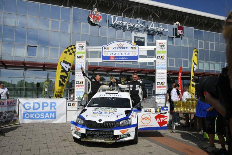 2018-Pro Racers-Kazár Miklós-Veszprém Rallye-beszámoló2