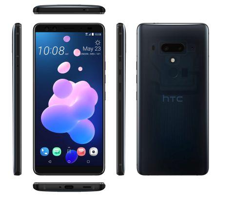 HTC U12+_ Áttetsző kék