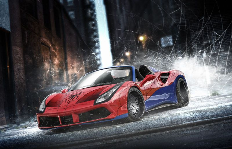 spidermanferrari