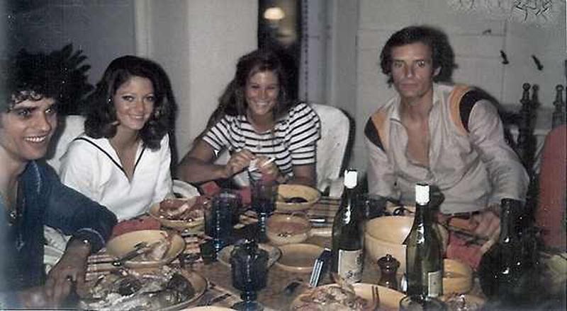 CEVERT-1970-Francois-Killy-Christina-et-GenevieveJabouille