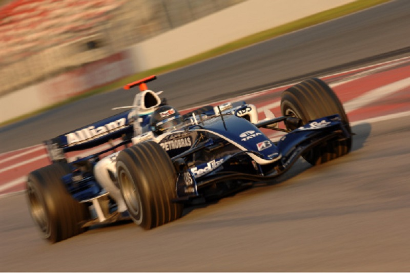 williams-wurz-2006-action