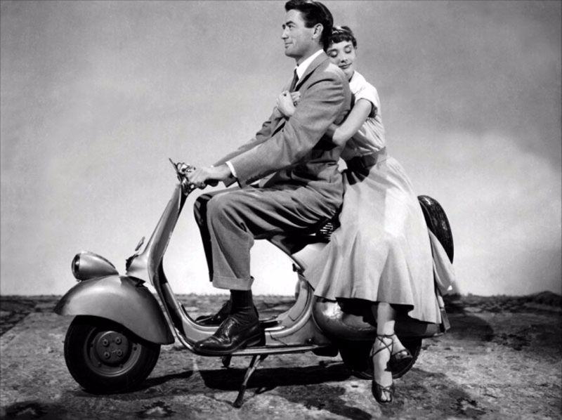Audrey Hepburn in Roman Holiday in 1953 (2)