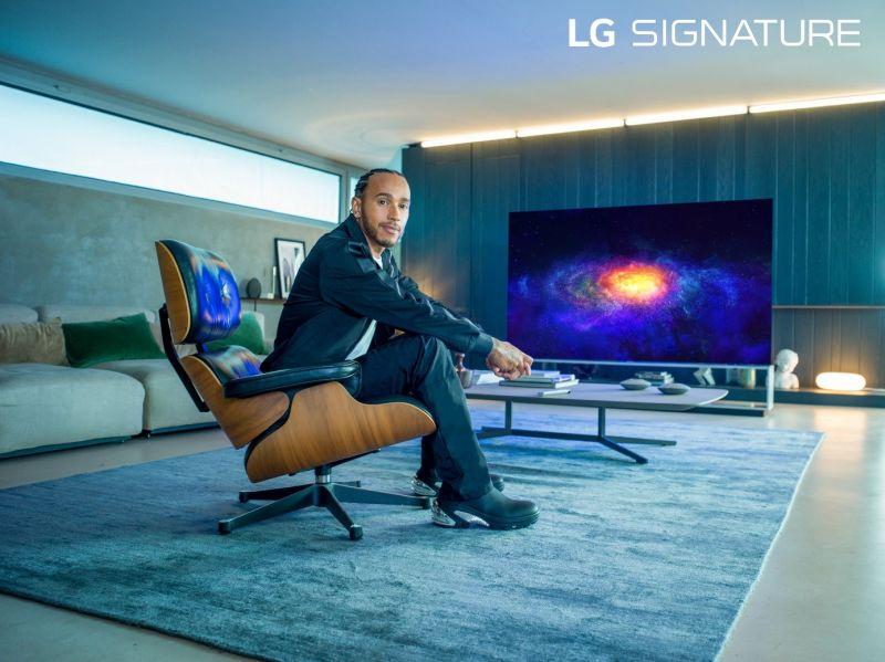 Lewis Hamilton x LG