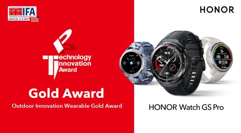 HonorWatchGSPro_IFA_GoldAward_2020