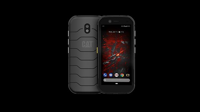 Cat S32 front and back rs