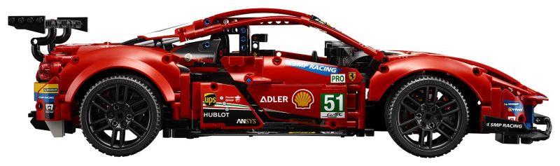 42125_LEGO Technic_Ferrari 488 GTE AF Corse_set