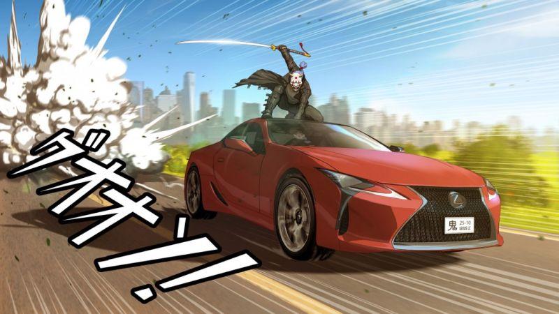 Lexus_LC_manga