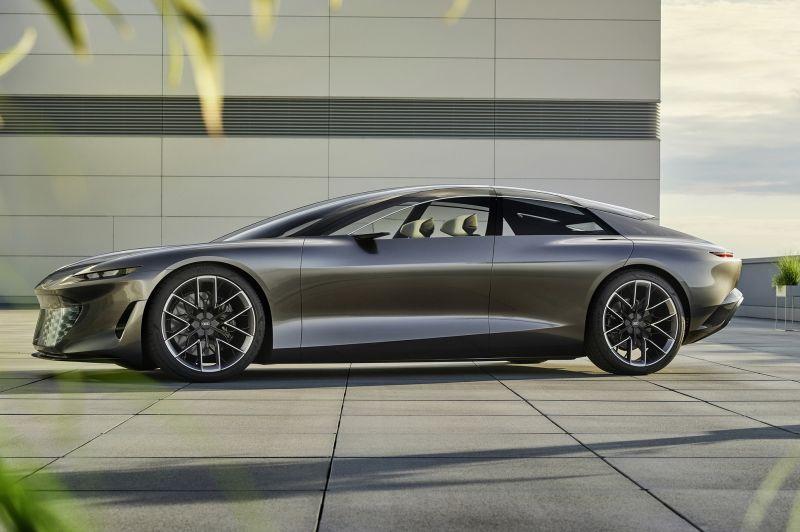 Audi Grandsphere Concept a közúti magángép