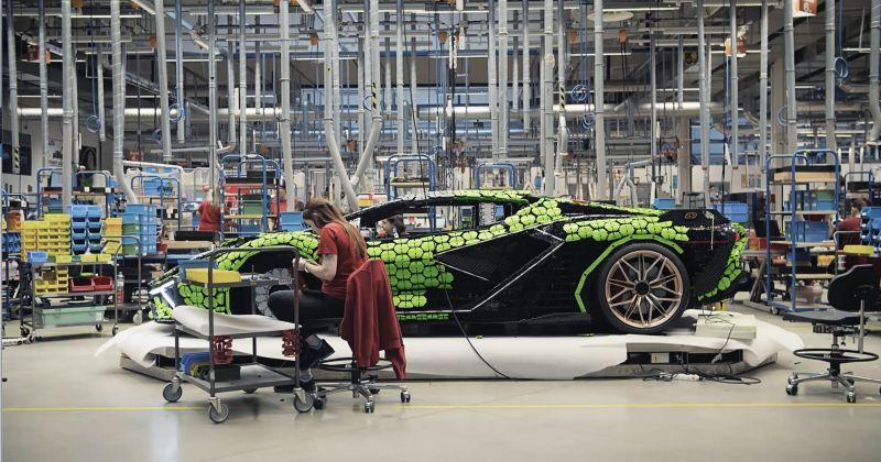 Behind the scenes - LEGO Technic Lamborghini Sian FKP 37