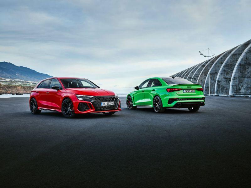 RS3 Sedan and Sportback